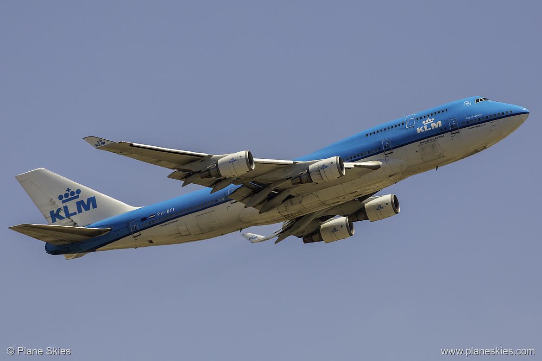 PlaneSkies com - KLM 747-400 PH-BFI