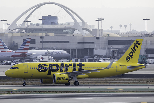 Spirit Airlines Airbus A320neo N902NK at Los Angeles International Airport (KLAX/LAX)