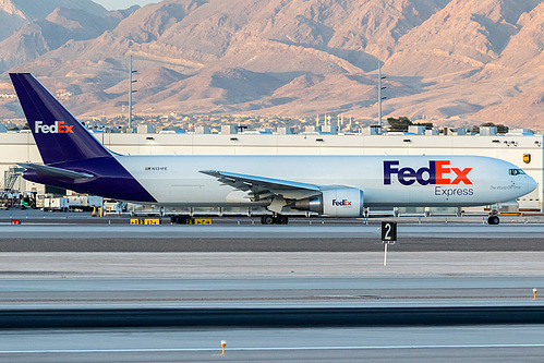 FedEx Boeing 767-300F N131FE at McCarran International Airport (KLAS/LAS)