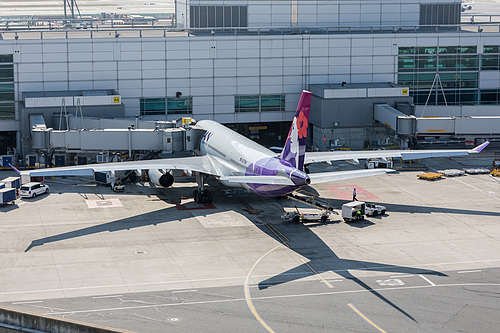 Hawaiian Airlines Airbus A330-200 N373HA at San Francisco International Airport (KSFO/SFO)