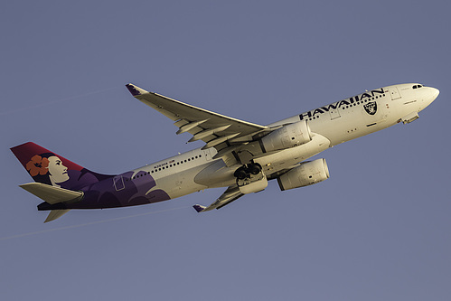 Hawaiian Airlines Airbus A330-200 N393HA at Los Angeles International Airport (KLAX/LAX)