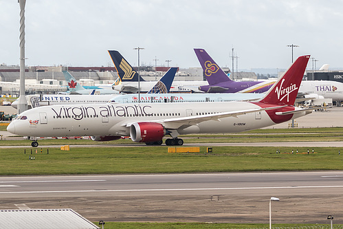 Virgin Atlantic Boeing 787-9 G-VBOW at London Heathrow Airport (EGLL/LHR)