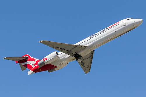 QantasLink Boeing 717-200 VH-NXI at Melbourne International Airport (YMML/MEL)