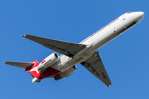 QantasLink Boeing 717-200 VH-NXR at Melbourne International Airport (YMML/MEL)