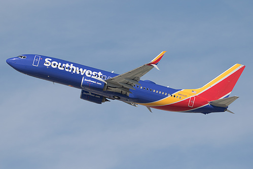 Southwest Airlines Boeing 737-800 N8522P at Los Angeles International Airport (KLAX/LAX)