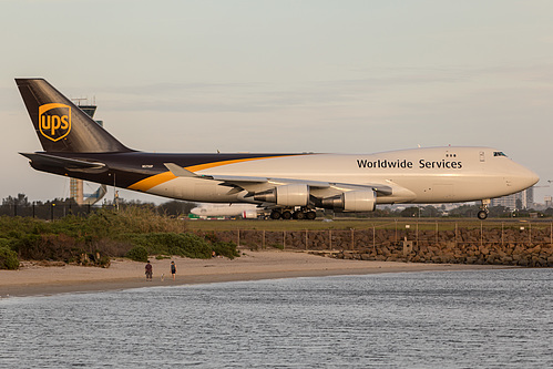 UPS Airlines Boeing 747-400F N575UP at Sydney Kingsford Smith International Airport (YSSY/SYD)