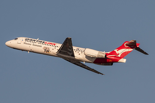QantasLink Boeing 717-200 VH-YQW at Sydney Kingsford Smith International Airport (YSSY/SYD)