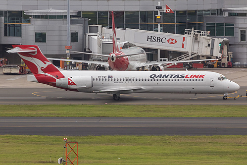 QantasLink Boeing 717-200 VH-YQY at Sydney Kingsford Smith International Airport (YSSY/SYD)