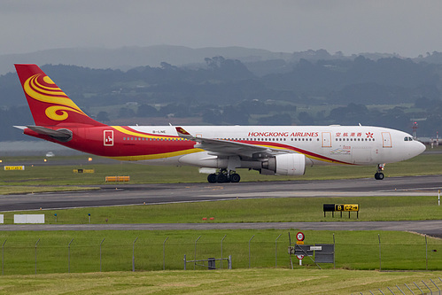 Hong Kong Airlines Airbus A330-200 B-LNE at Auckland International Airport (NZAA/AKL)