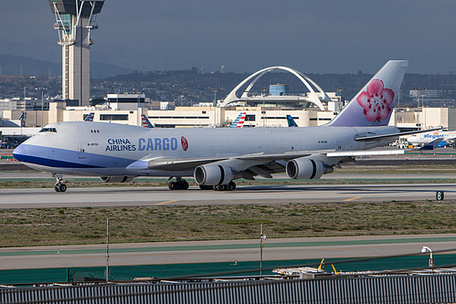 China Airlines Boeing 747-400F B-18722 at Los Angeles International Airport (KLAX/LAX)