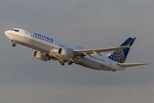United Airlines Boeing 737-800 N78509 at Los Angeles International Airport (KLAX/LAX)