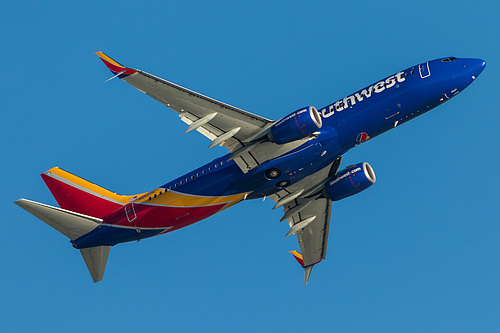 Southwest Airlines Boeing 737-800 N8527Q at Los Angeles International Airport (KLAX/LAX)