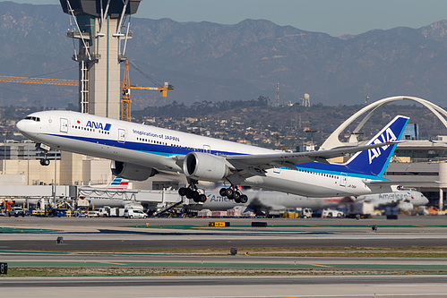 All Nippon Airways Boeing 777-300ER JA781A at Los Angeles International Airport (KLAX/LAX)