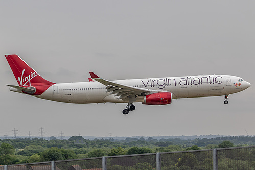 Virgin Atlantic Airbus A330-300 G-VGEM at London Heathrow Airport (EGLL/LHR)