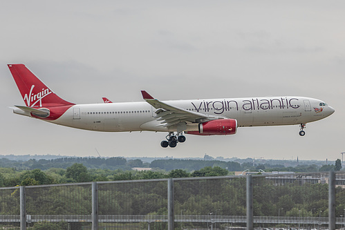 Virgin Atlantic Airbus A330-300 G-VINE at London Heathrow Airport (EGLL/LHR)