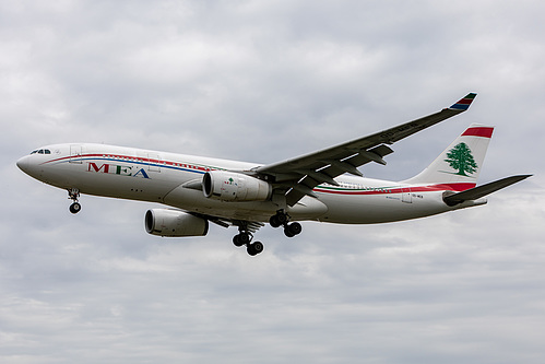 Middle East Airlines Airbus A330-200 OD-MEB at London Heathrow Airport (EGLL/LHR)