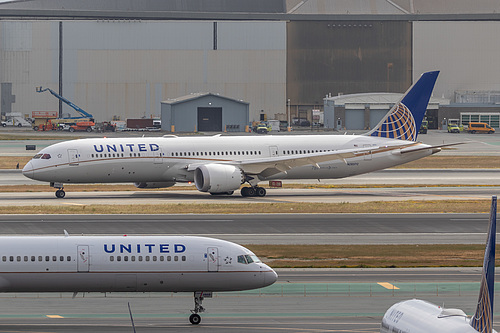 United Airlines Boeing 787-9 N26970 at San Francisco International Airport (KSFO/SFO)