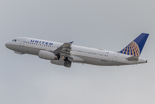 United Airlines Airbus A320-200 N456UA at San Francisco International Airport (KSFO/SFO)