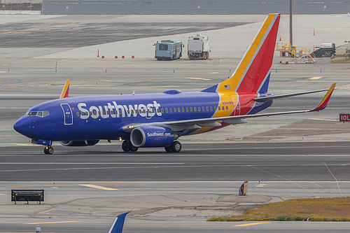 Southwest Airlines Boeing 737-700 N914WN at San Francisco International Airport (KSFO/SFO)