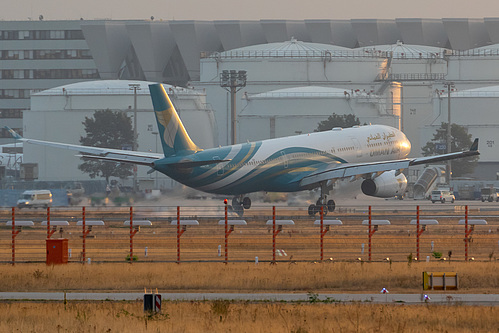 Oman Air Airbus A330-300 A4O-DB at Frankfurt am Main International Airport (EDDF/FRA)
