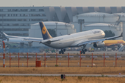 Lufthansa Airbus A330-300 D-AIKI at Frankfurt am Main International Airport (EDDF/FRA)