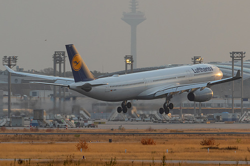 Lufthansa Airbus A330-300 D-AIKN at Frankfurt am Main International Airport (EDDF/FRA)