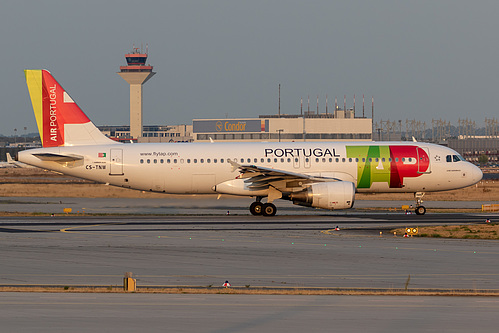 TAP Portugal Airbus A320-200 CS-TNW at Frankfurt am Main International Airport (EDDF/FRA)