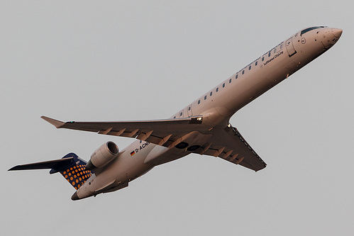 Lufthansa CityLine Canadair CRJ-900 D-ACNH at Frankfurt am Main International Airport (EDDF/FRA)
