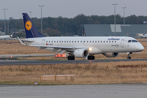 Lufthansa CityLine Embraer ERJ-190 D-AECF at Frankfurt am Main International Airport (EDDF/FRA)