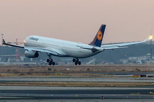 Lufthansa Airbus A330-300 D-AIKP at Frankfurt am Main International Airport (EDDF/FRA)