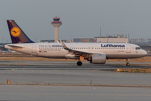 Lufthansa Airbus A320neo D-AINB at Frankfurt am Main International Airport (EDDF/FRA)