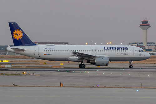 Lufthansa Airbus A320-200 D-AIPR at Frankfurt am Main International Airport (EDDF/FRA)