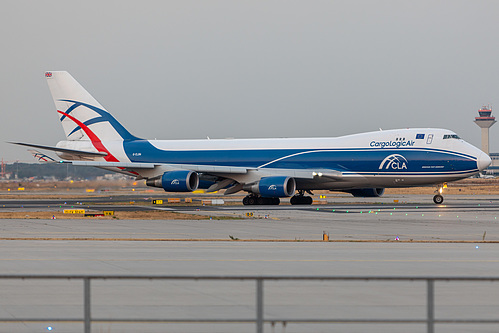 CargoLogicAir Boeing 747-400ERF G-CLBA at Frankfurt am Main International Airport (EDDF/FRA)