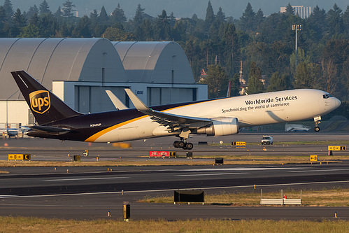 UPS Airlines Boeing 767-300F N348UP at Portland International Airport (KPDX/PDX)