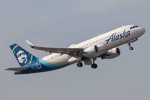 Alaska Airlines Airbus A320-200 N364VA at Portland International Airport (KPDX/PDX)