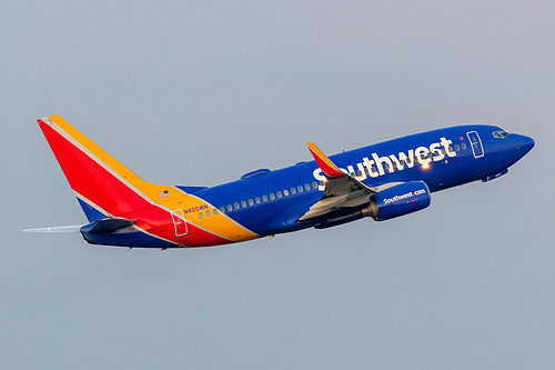 Southwest Airlines Boeing 737-700 N400WN at Portland International Airport (KPDX/PDX)