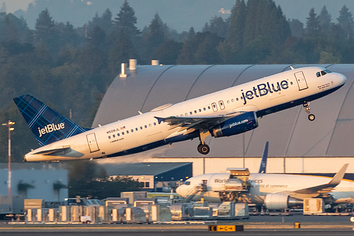 JetBlue Airways Airbus A320-200 N508JL at Portland International Airport (KPDX/PDX)