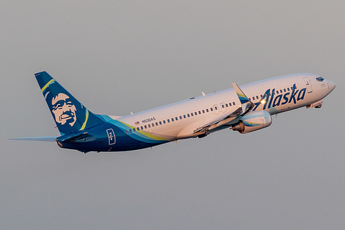 Alaska Airlines Boeing 737-800 N530AS at Portland International Airport (KPDX/PDX)