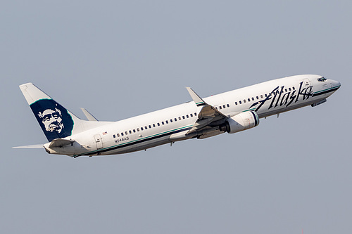 Alaska Airlines Boeing 737-800 N546AS at Portland International Airport (KPDX/PDX)