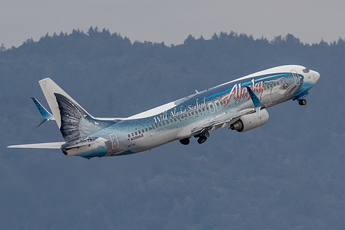 Alaska Airlines Boeing 737-800 N559AS at Portland International Airport (KPDX/PDX)