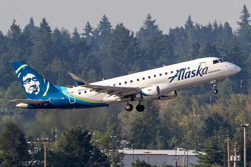 Horizon Air Embraer ERJ-175 N630QX at Portland International Airport (KPDX/PDX)