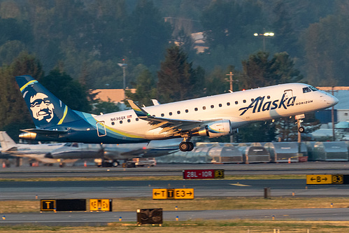 Horizon Air Embraer ERJ-175 N636QX at Portland International Airport (KPDX/PDX)