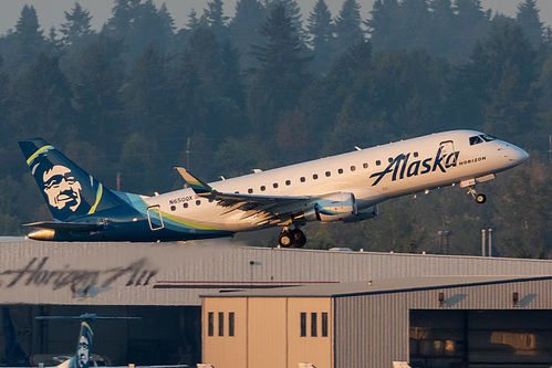 Horizon Air Embraer ERJ-175 N650QX at Portland International Airport (KPDX/PDX)