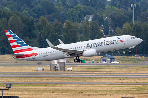 American Airlines Boeing 737-800 N862NN at Portland International Airport (KPDX/PDX)