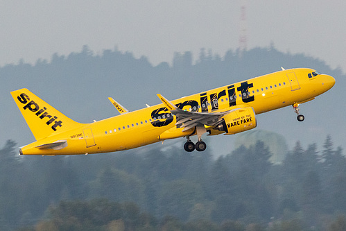 Spirit Airlines Airbus A320neo N913NK at Portland International Airport (KPDX/PDX)