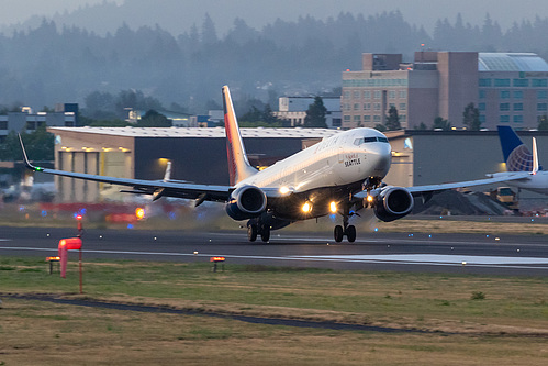Delta Air Lines Boeing 737-900ER N809DN at Portland International Airport (KPDX/PDX)
